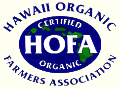 HOFA Hawaii Organic Farmers Association logo